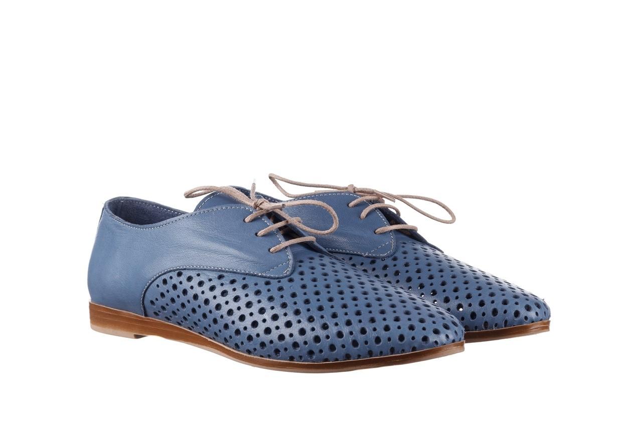 Półbuty bayla-161 138 80129 denim, niebieski, skóra naturalna - skórzane - półbuty - buty damskie - kobieta 9