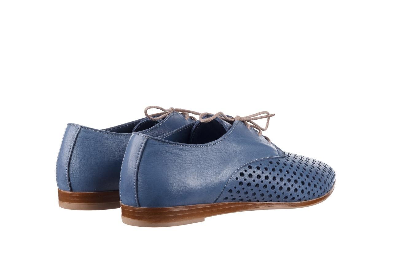 Półbuty bayla-161 138 80129 denim, niebieski, skóra naturalna - skórzane - półbuty - buty damskie - kobieta 11