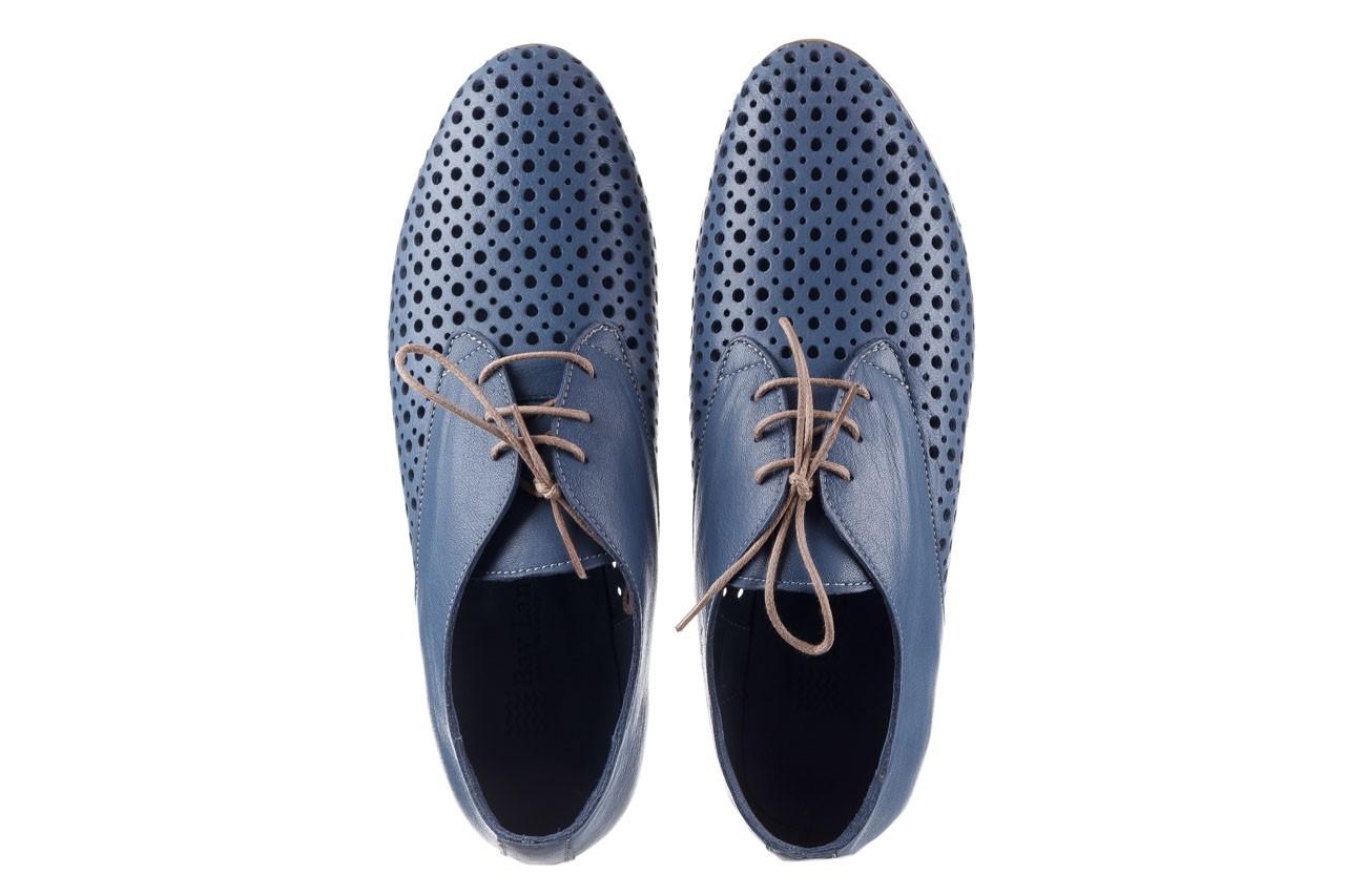 Półbuty bayla-161 138 80129 denim, niebieski, skóra naturalna - skórzane - półbuty - buty damskie - kobieta 12