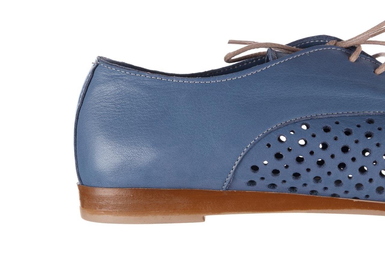 Półbuty bayla-161 138 80129 denim, niebieski, skóra naturalna - skórzane - półbuty - buty damskie - kobieta 15