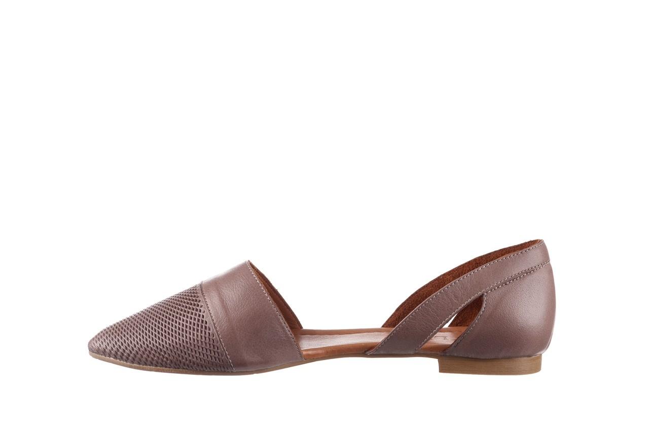 Baleriny bayla-161 074 205 hat, beż, skóra naturalna  - baleriny - buty damskie - kobieta 10