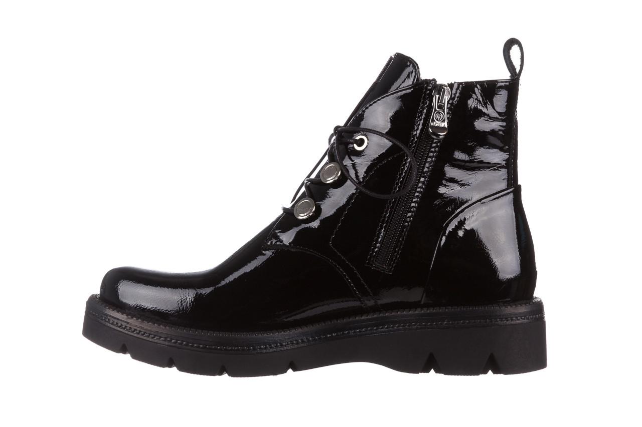 Trzewiki bayla 161 050 4006 400 black patent 161175, czarny, skóra naturalna lakierowana  - trzewiki - buty damskie - kobieta 13