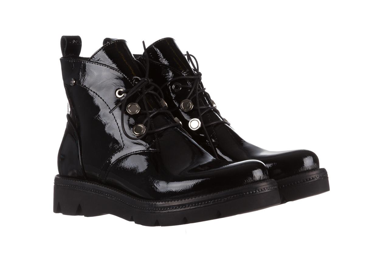 Trzewiki bayla 161 050 4006 400 black patent 161175, czarny, skóra naturalna lakierowana  - trzewiki - buty damskie - kobieta 11