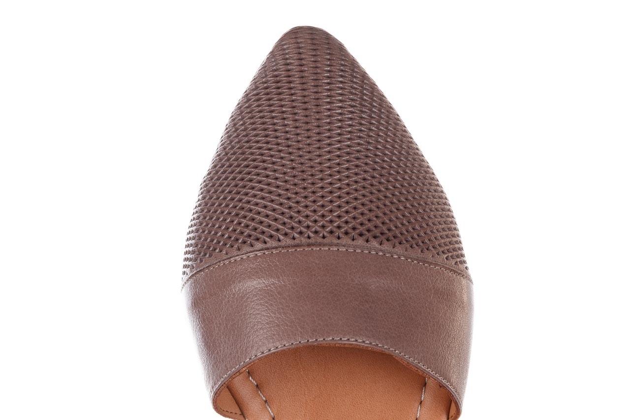 Baleriny bayla-161 074 205 hat, beż, skóra naturalna  - baleriny - buty damskie - kobieta 15
