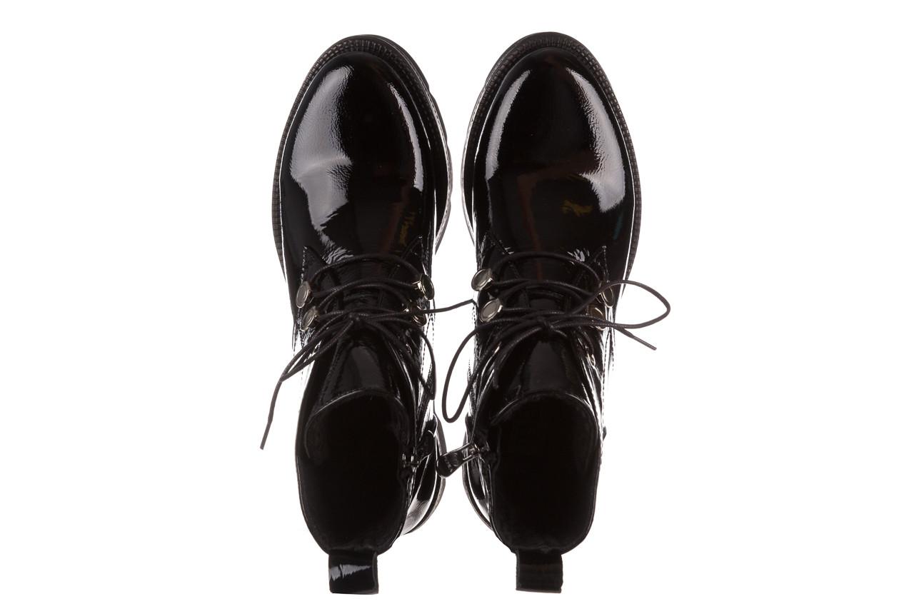 Trzewiki bayla 161 050 4006 400 black patent 161175, czarny, skóra naturalna lakierowana  - trzewiki - buty damskie - kobieta 15