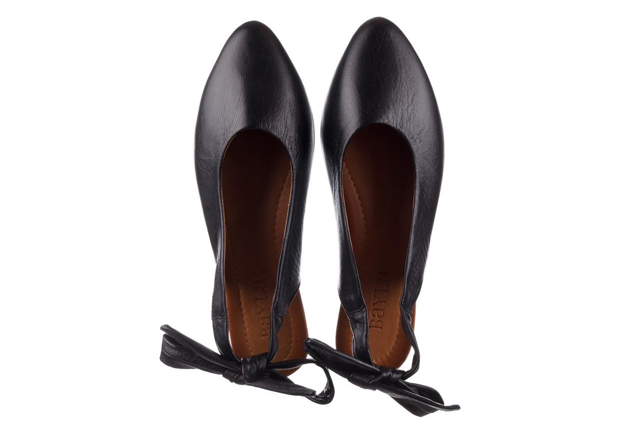 Sandały bayla-161 066 504 3 20 black, czarny, skóra naturalna  - bayla - nasze marki 12