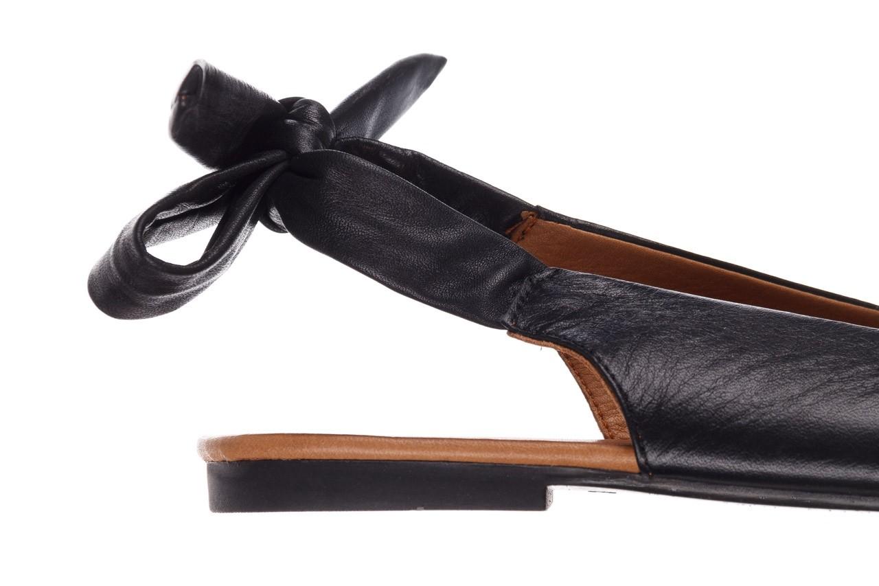 Sandały bayla-161 066 504 3 20 black, czarny, skóra naturalna  - bayla - nasze marki 13