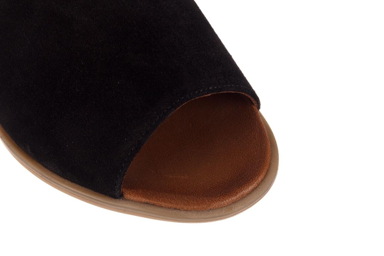 Sandały bayla-161 061 1612 black suede, czarny, skóra naturalna  - skórzane - sandały - buty damskie - kobieta 13