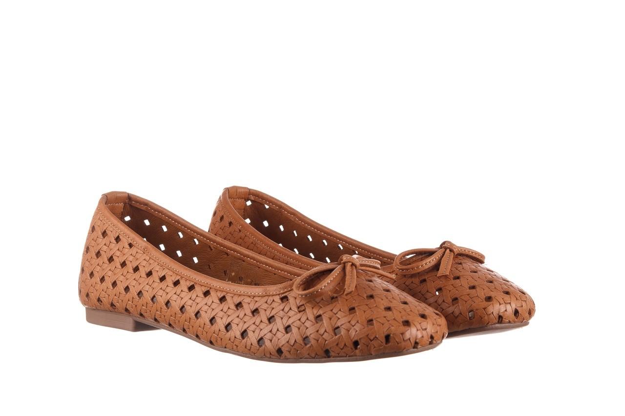 Baleriny bayla-161 093 388 4057 tan, brąz, skóra naturalna  - skórzane - baleriny - buty damskie - kobieta 9