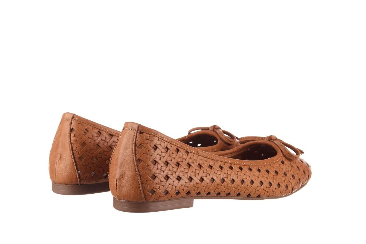 Baleriny bayla-161 093 388 4057 tan, brąz, skóra naturalna  - skórzane - baleriny - buty damskie - kobieta 11