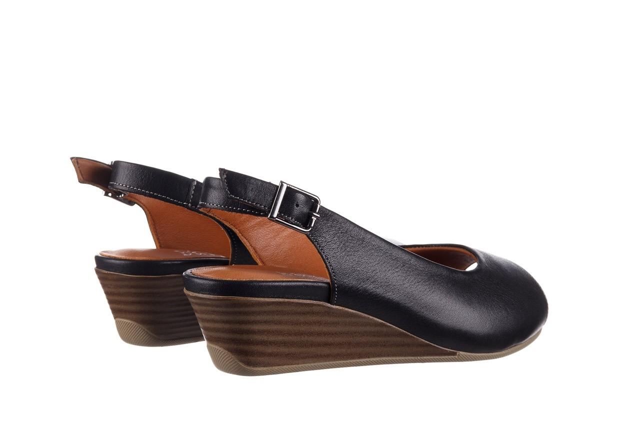 Sandały bayla-161 078 606 3 black, czarny, skóra naturalna  - na koturnie - sandały - buty damskie - kobieta 11
