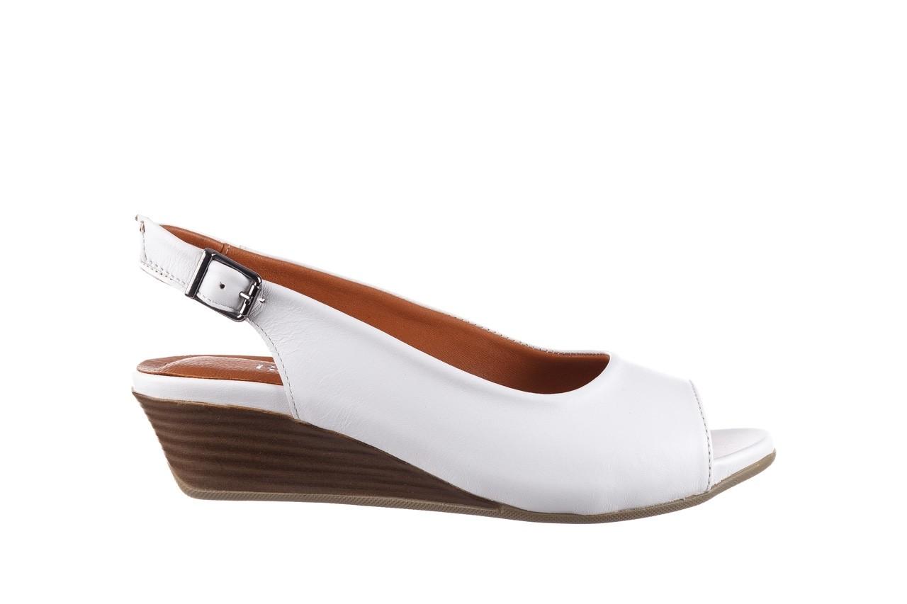 Sandały bayla-161 078 606 3 34 white, biały, skóra naturalna  - sandały - dla niej  - sale 8