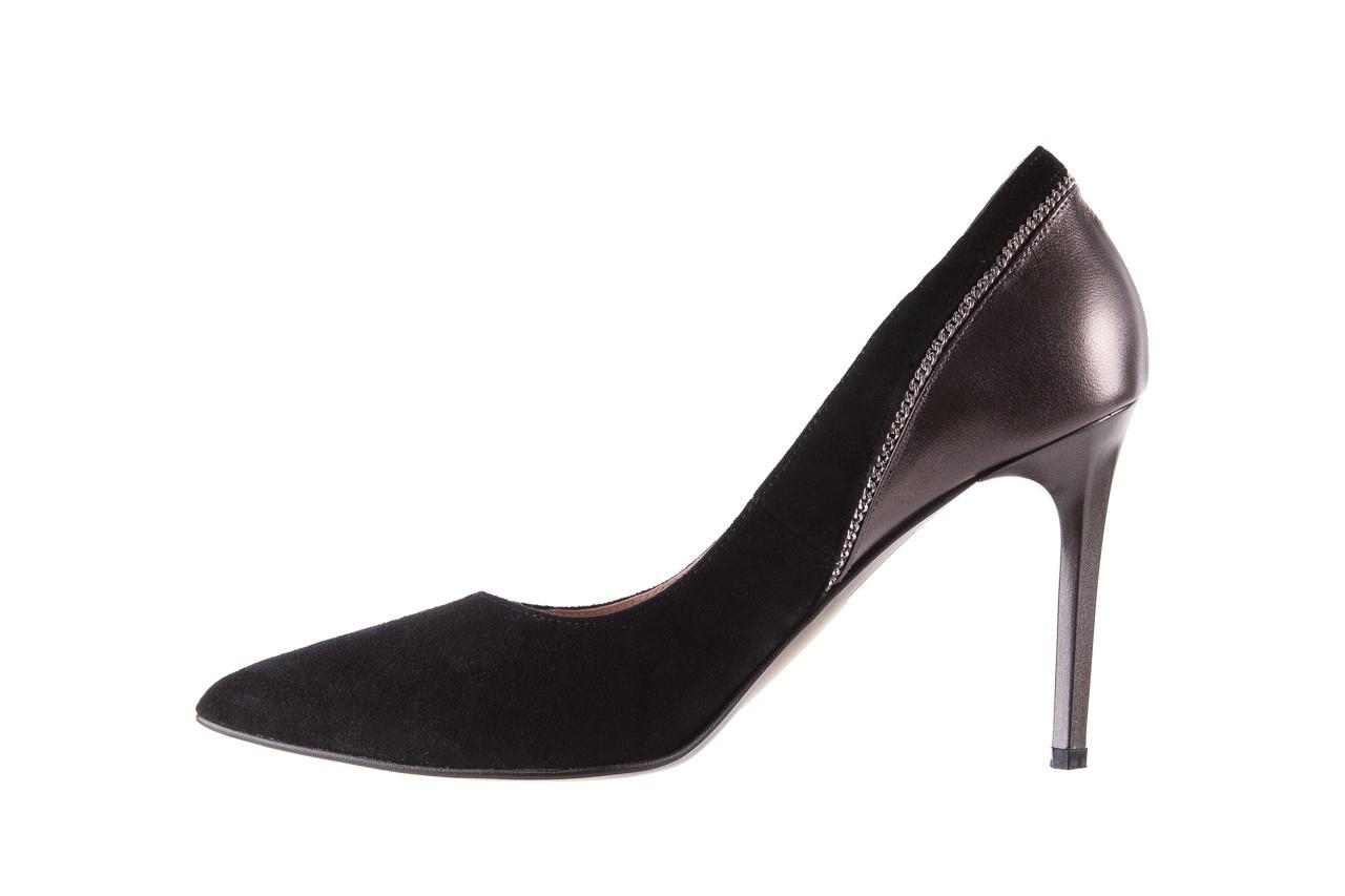 Szpilki bayla-097 17 czarne szpilki, skóra naturalna  - zamszowe - szpilki - buty damskie - kobieta 10