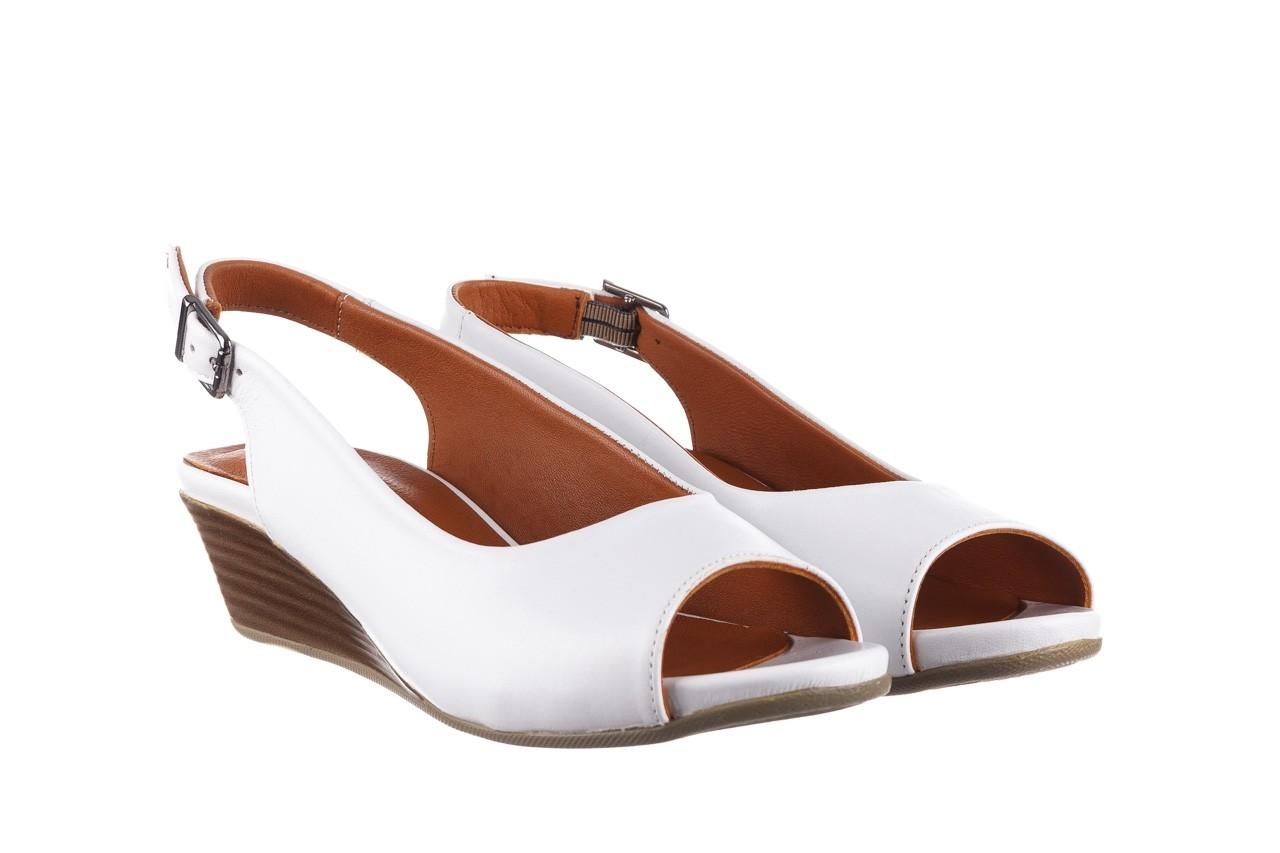 Sandały bayla-161 078 606 3 34 white, biały, skóra naturalna  - sandały - dla niej  - sale 9