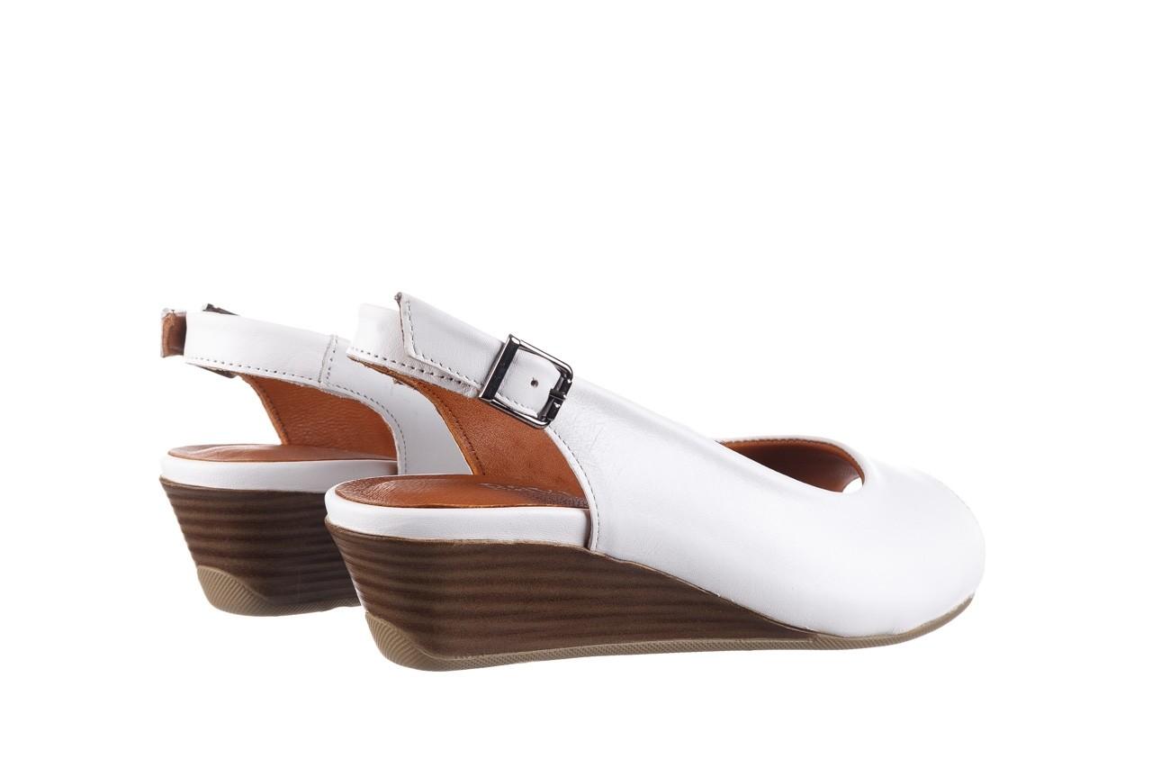Sandały bayla-161 078 606 3 34 white, biały, skóra naturalna  - sandały - dla niej  - sale 11