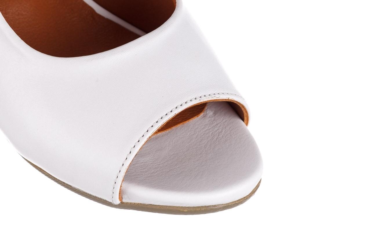Sandały bayla-161 078 606 3 34 white, biały, skóra naturalna  - sandały - dla niej  - sale 13