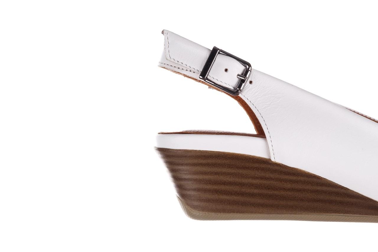 Sandały bayla-161 078 606 3 34 white, biały, skóra naturalna  - sandały - dla niej  - sale 14