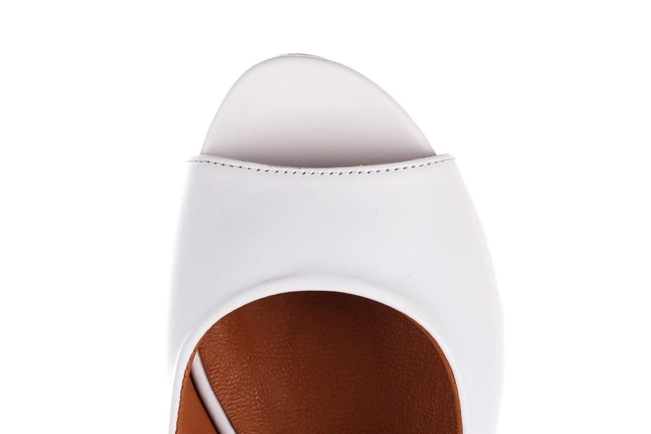 Sandały bayla-161 078 606 3 34 white, biały, skóra naturalna  - sandały - dla niej  - sale 15
