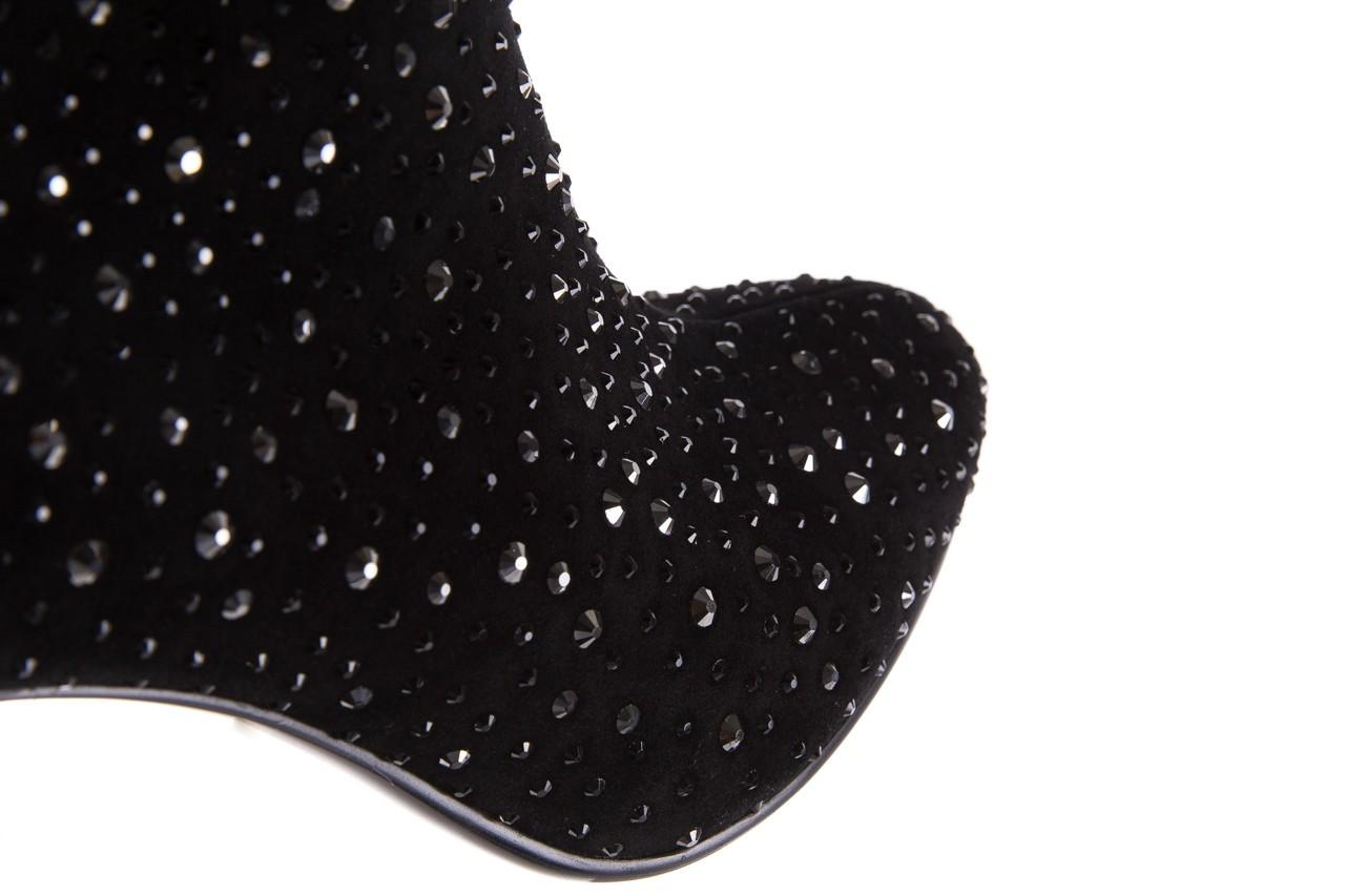 Botki sca'viola f-102 black suede, czarny, skóra naturalna  - sca`viola - nasze marki 18