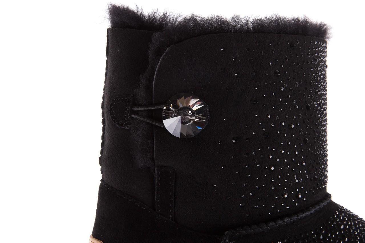 Śniegowce sca'viola f-116 black, czarne, skóra naturalna 17