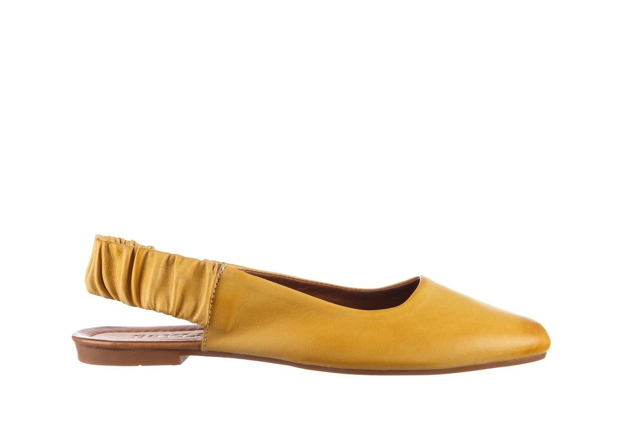 Sandały bayla-161 066 730 353 yellow, żółty, skóra naturalna  - sandały - dla niej  - sale 7