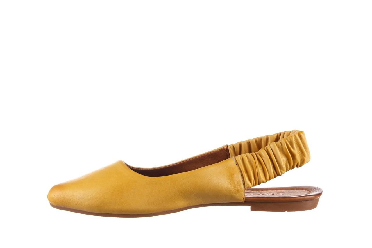 Sandały bayla-161 066 730 353 yellow, żółty, skóra naturalna  - sandały - dla niej  - sale 9
