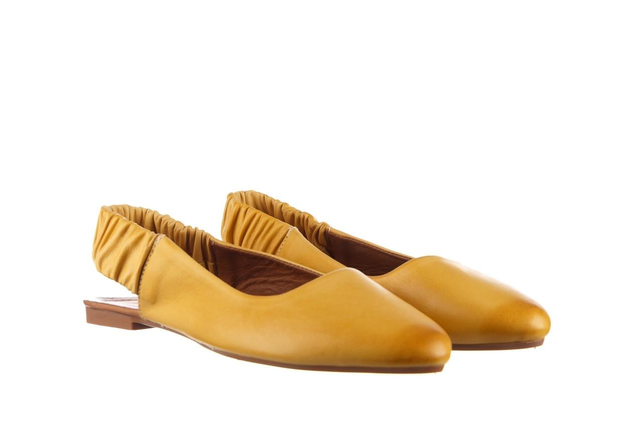Sandały bayla-161 066 730 353 yellow, żółty, skóra naturalna  - sandały - dla niej  - sale 8