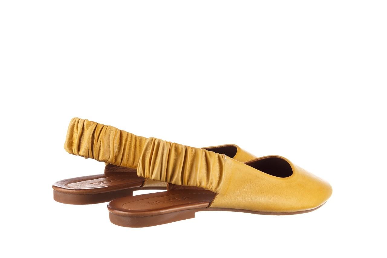 Sandały bayla-161 066 730 353 yellow, żółty, skóra naturalna  - sandały - dla niej  - sale 10