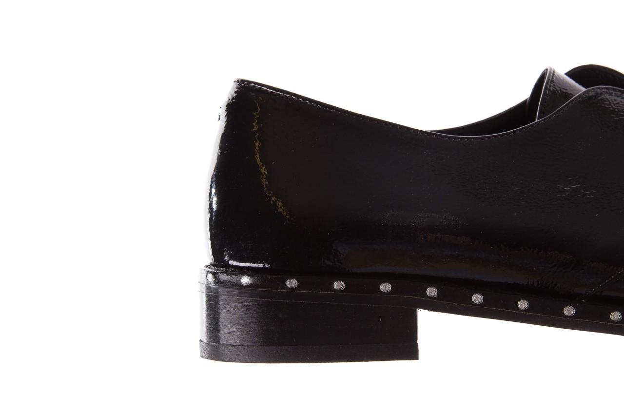 Półbuty bayla-176 8597 czarne półbuty, skóra naturalna lakierowana - mokasyny i lordsy - półbuty - buty damskie - kobieta 15