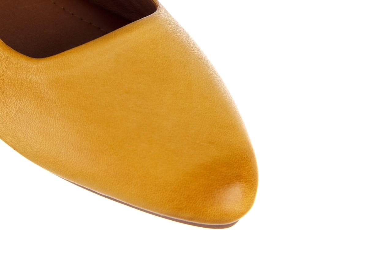Sandały bayla-161 066 730 353 yellow, żółty, skóra naturalna  - sandały - dla niej  - sale 12