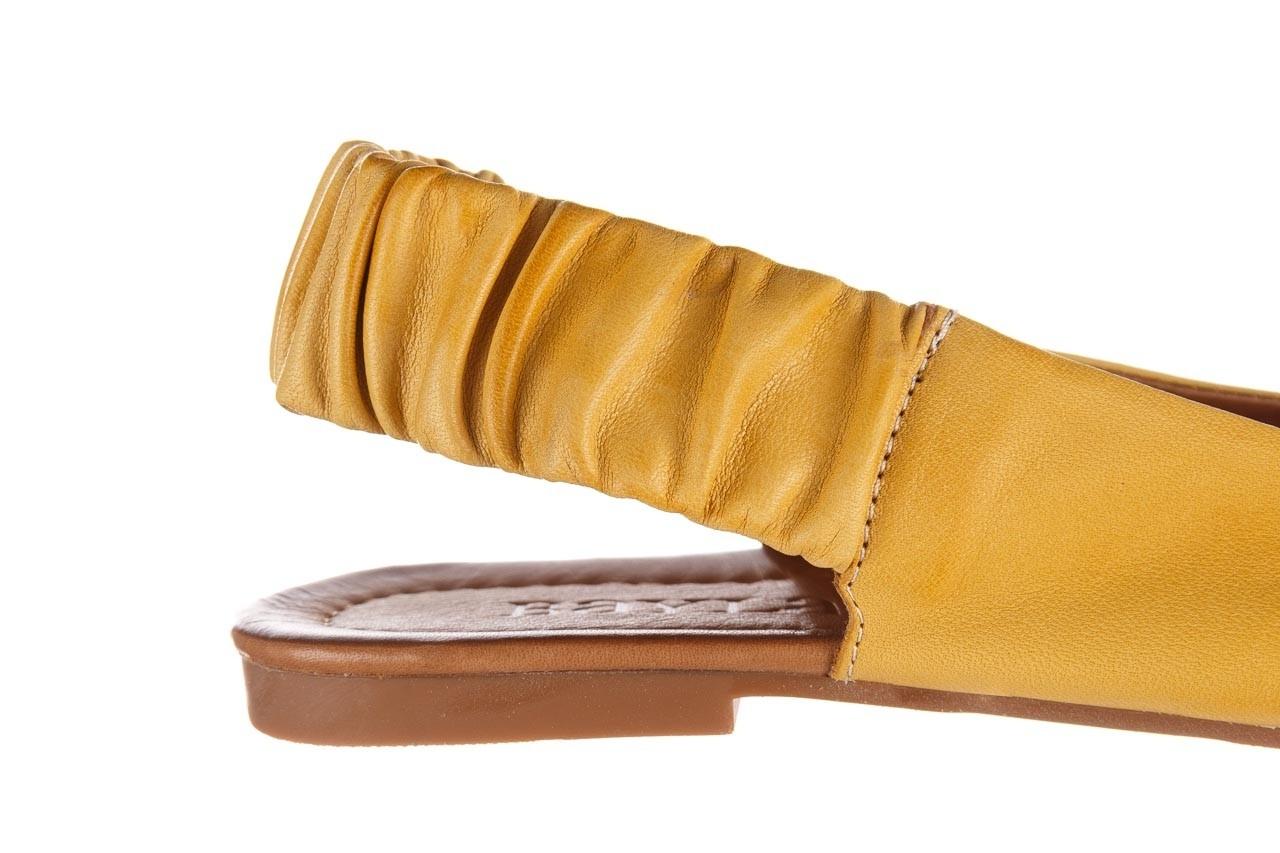 Sandały bayla-161 066 730 353 yellow, żółty, skóra naturalna  - sandały - dla niej  - sale 13