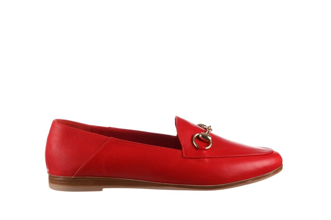 Półbuty bayla-161 138 80127 red, czerwony, skóra naturalna - półbuty - buty damskie - kobieta 8