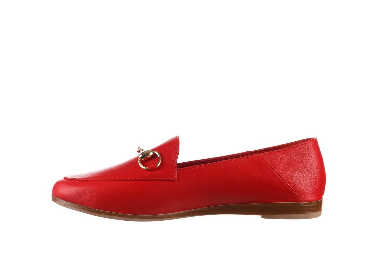 Półbuty bayla-161 138 80127 red, czerwony, skóra naturalna - półbuty - buty damskie - kobieta 10