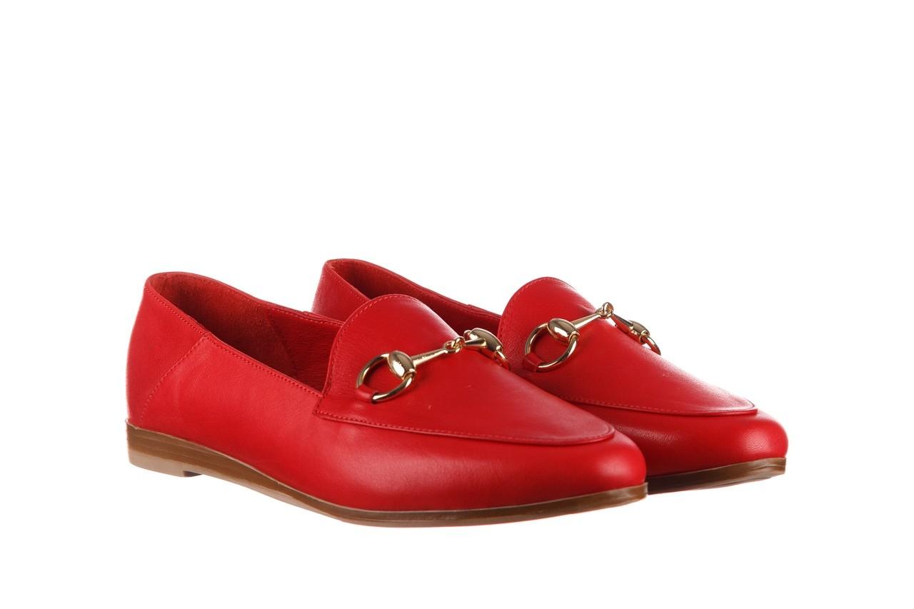 Półbuty bayla-161 138 80127 red, czerwony, skóra naturalna - półbuty - buty damskie - kobieta 9