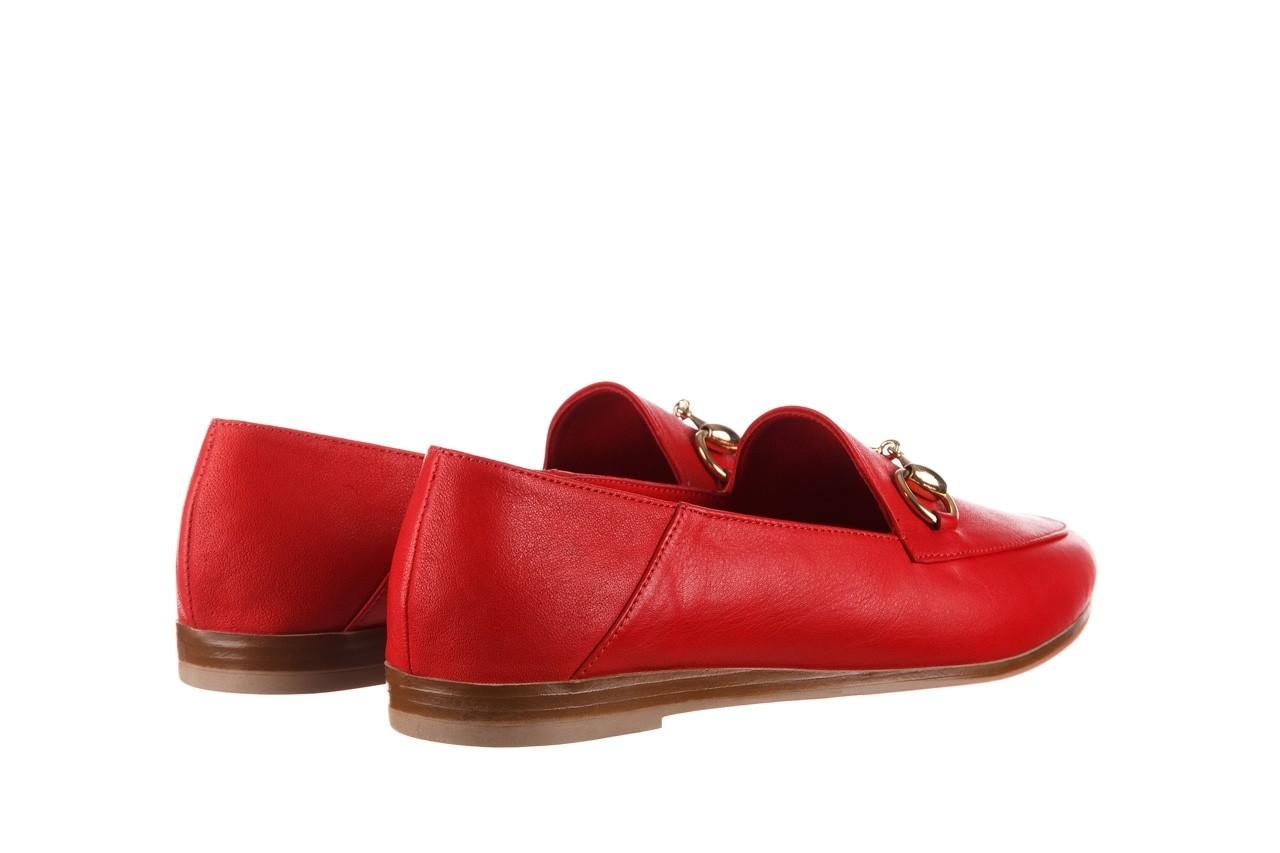 Półbuty bayla-161 138 80127 red, czerwony, skóra naturalna - półbuty - buty damskie - kobieta 11