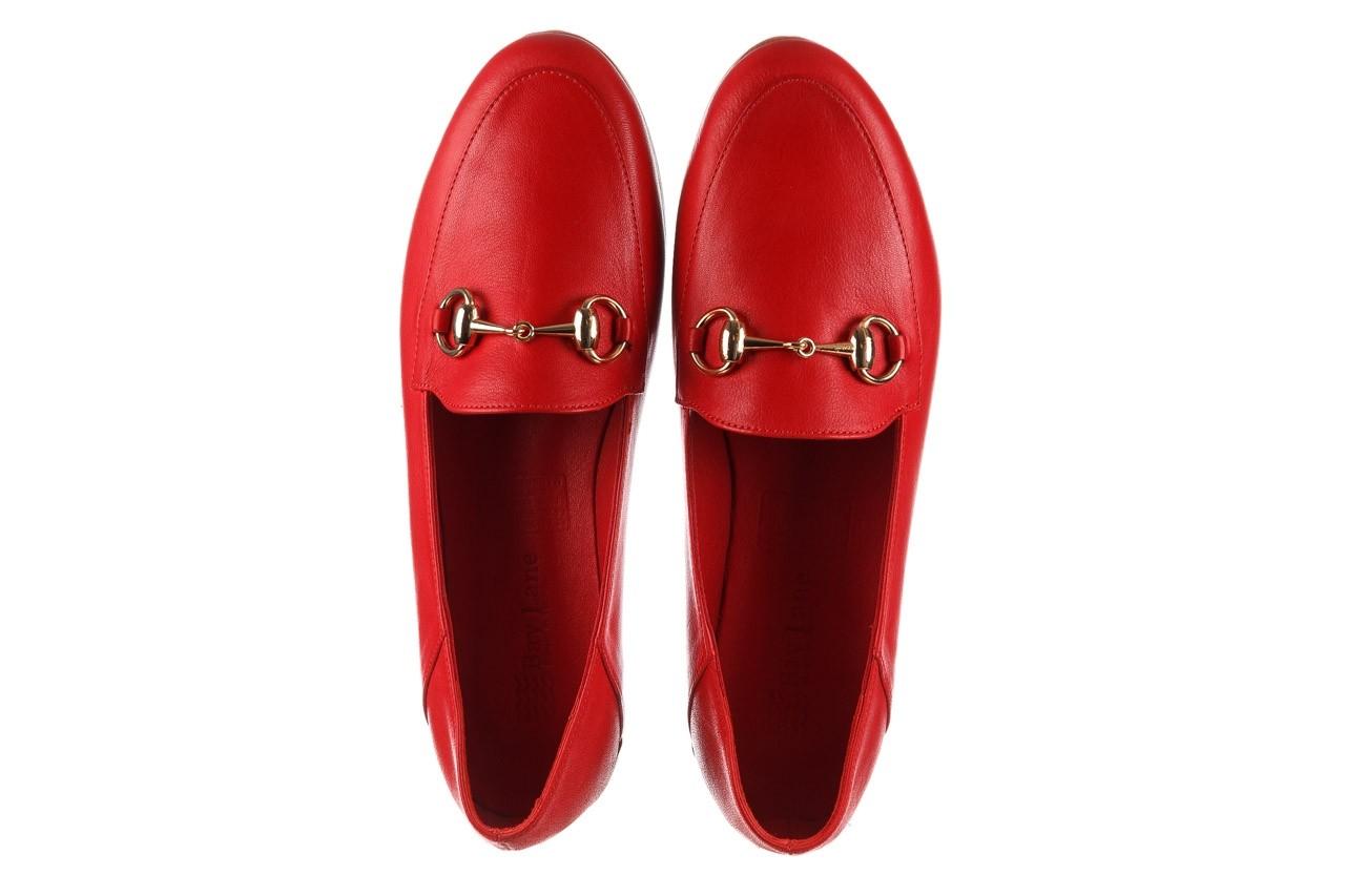 Półbuty bayla-161 138 80127 red, czerwony, skóra naturalna - półbuty - buty damskie - kobieta 12