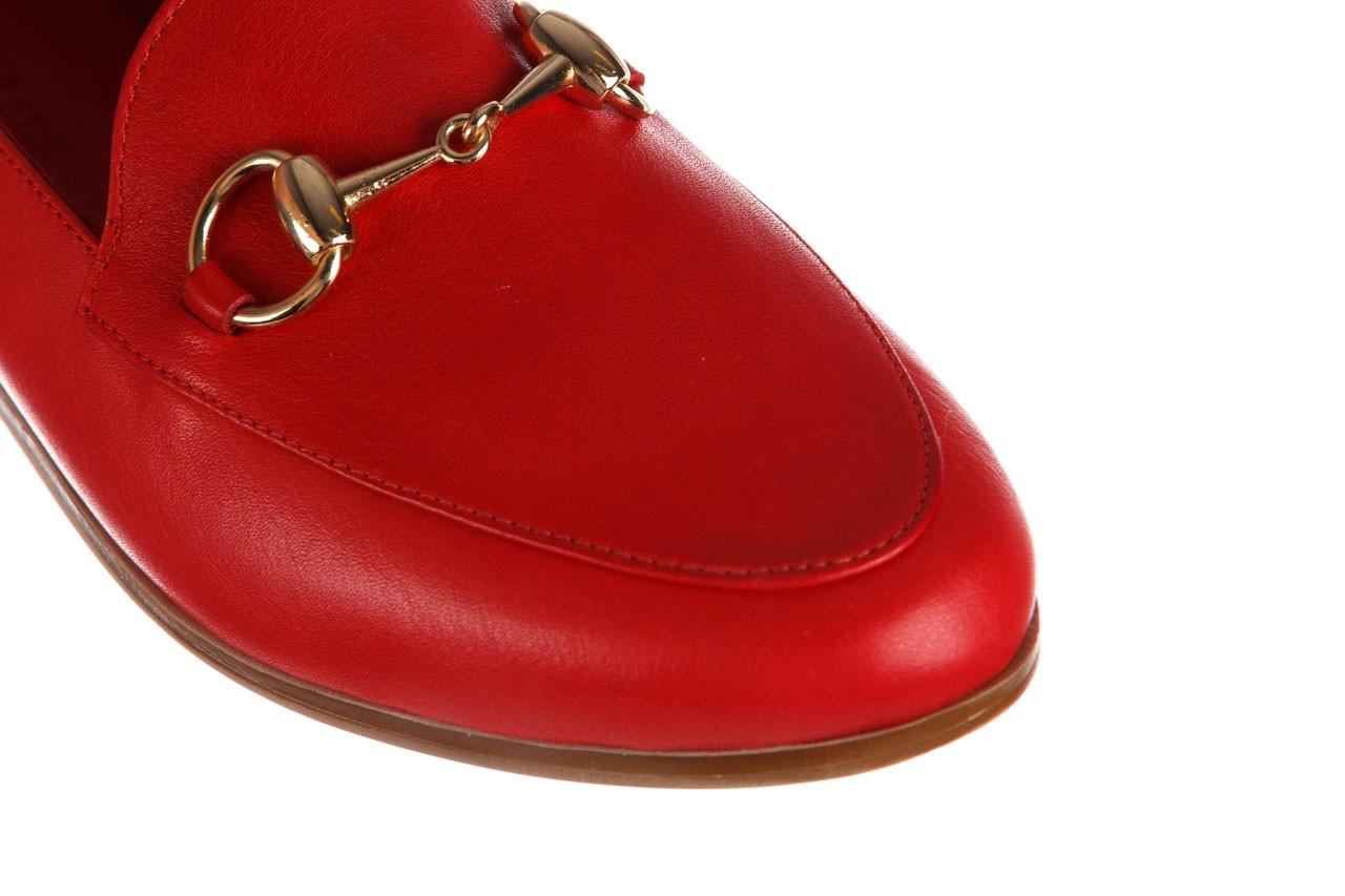 Półbuty bayla-161 138 80127 red, czerwony, skóra naturalna - półbuty - buty damskie - kobieta 14
