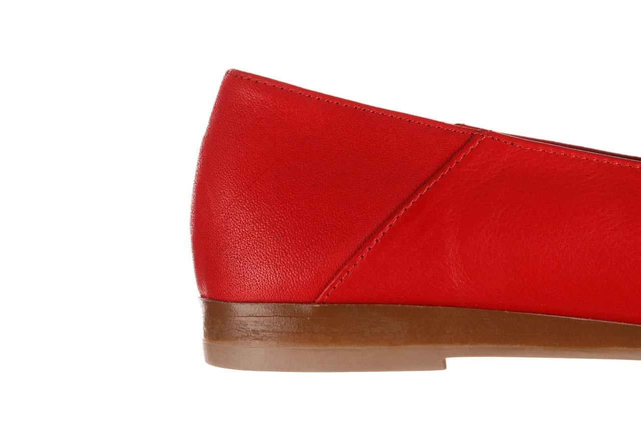 Półbuty bayla-161 138 80127 red, czerwony, skóra naturalna - półbuty - buty damskie - kobieta 15