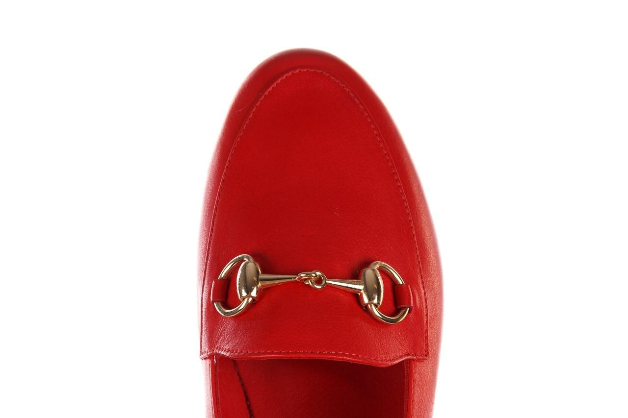 Półbuty bayla-161 138 80127 red, czerwony, skóra naturalna - półbuty - buty damskie - kobieta 13