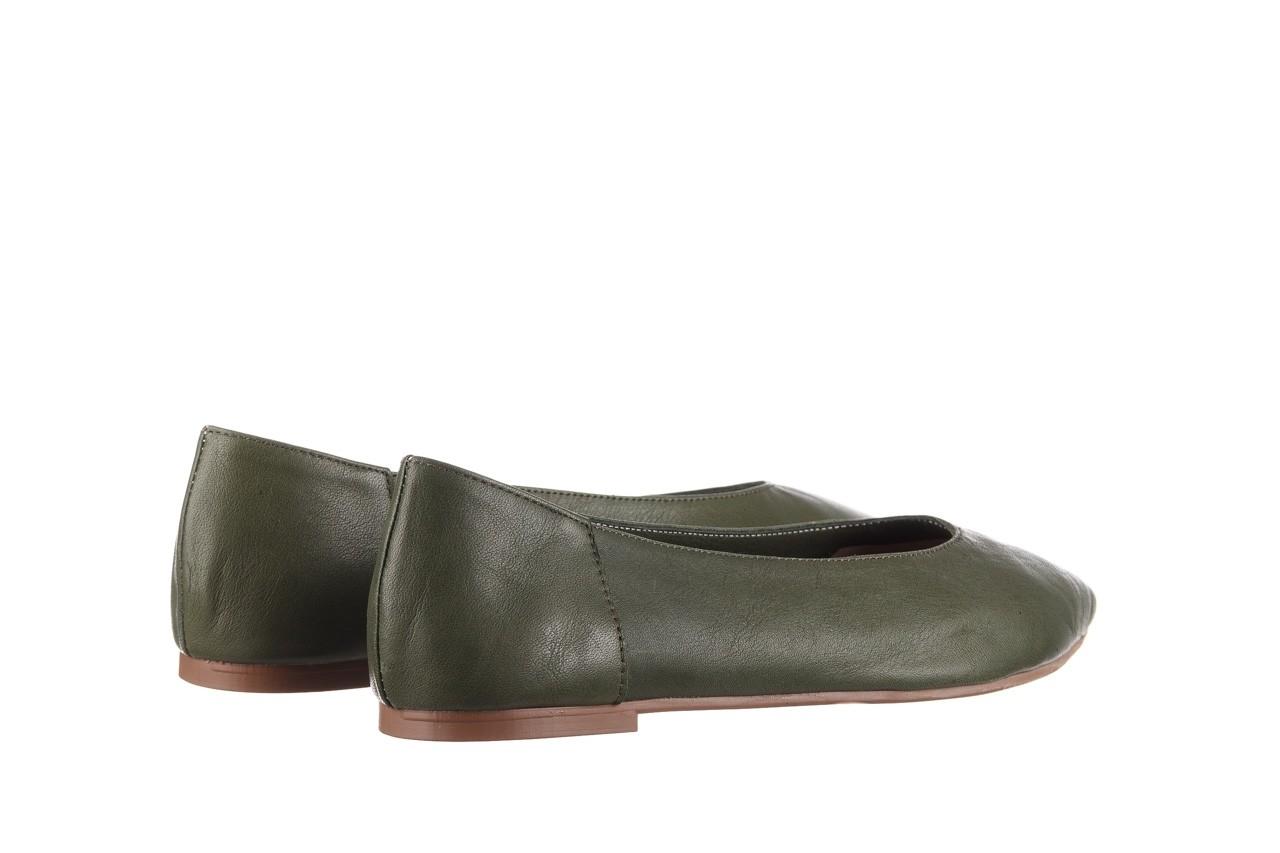 Baleriny bayla-161 093 388 4010 khaki 20, zielony, skóra naturalna - skórzane - baleriny - buty damskie - kobieta 10