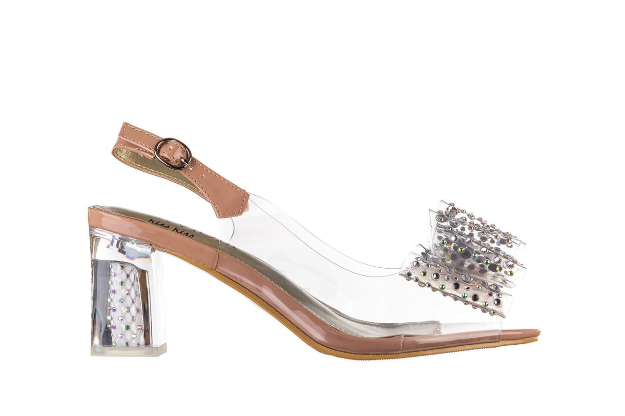 Sandały sca'viola g-60 l. pink 047175, róż, silikon - nowości 7