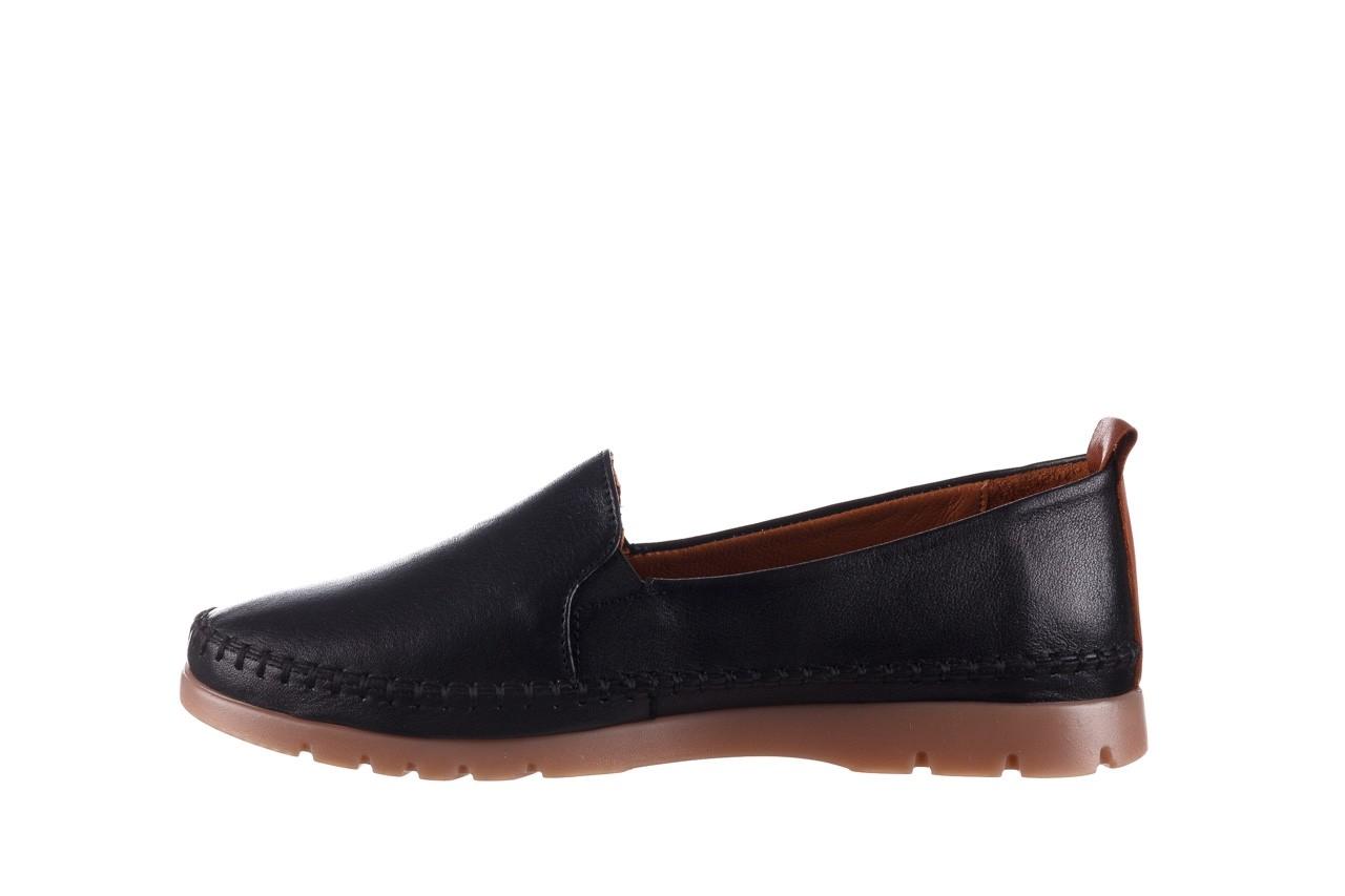 Półbuty bayla-161 078 14305 5 black, czarny, skóra naturalna  - półbuty - buty damskie - kobieta 10