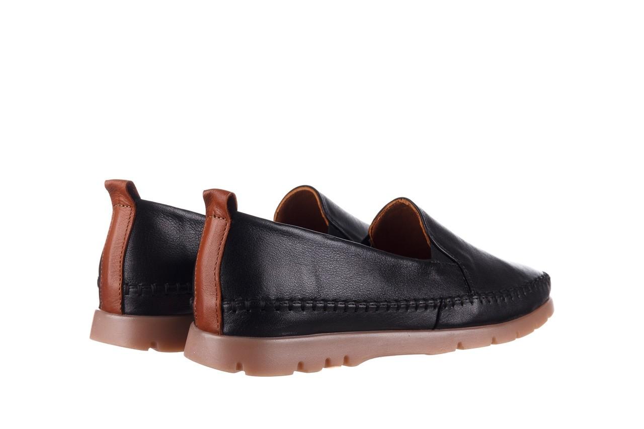 Półbuty bayla-161 078 14305 5 black, czarny, skóra naturalna  - półbuty - buty damskie - kobieta 11