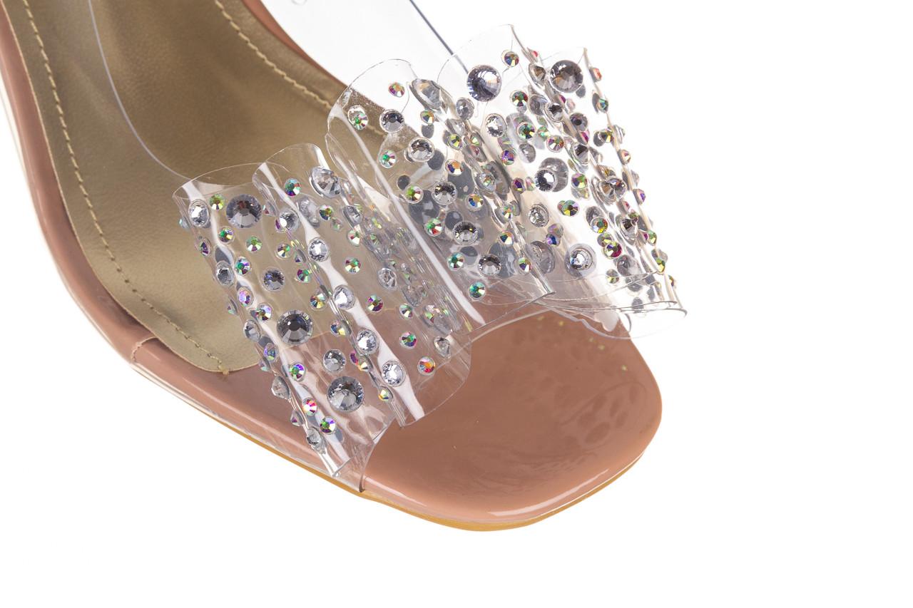 Sandały sca'viola g-60 l. pink 047175, róż, silikon - nowości 12