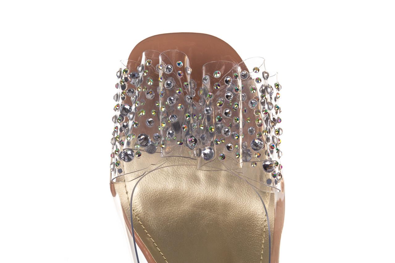 Sandały sca'viola g-60 l. pink 047175, róż, silikon - nowości 13