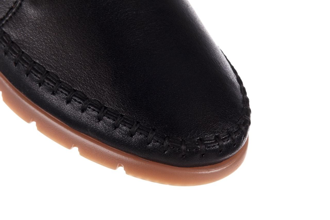 Półbuty bayla-161 078 14305 5 black, czarny, skóra naturalna  - półbuty - buty damskie - kobieta 13