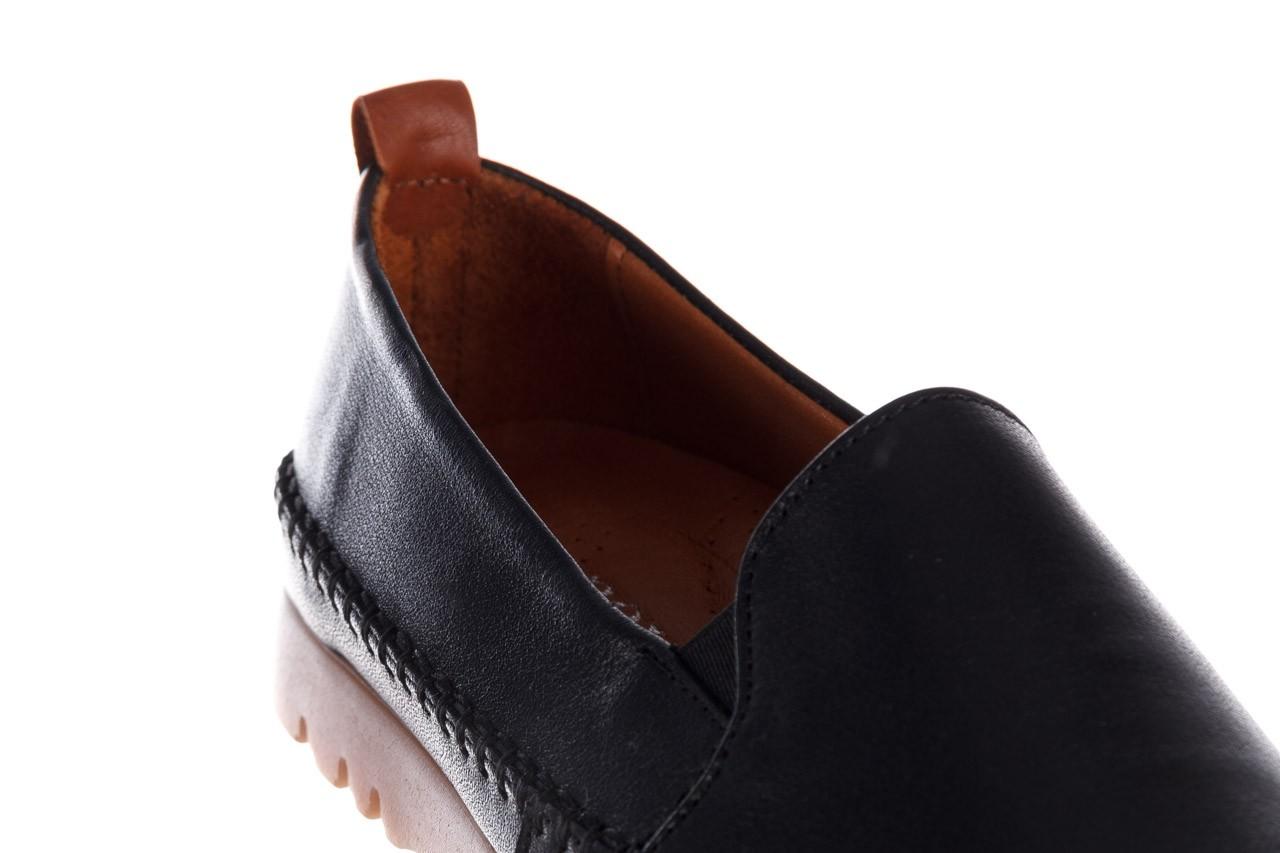 Półbuty bayla-161 078 14305 5 black, czarny, skóra naturalna  - półbuty - buty damskie - kobieta 14
