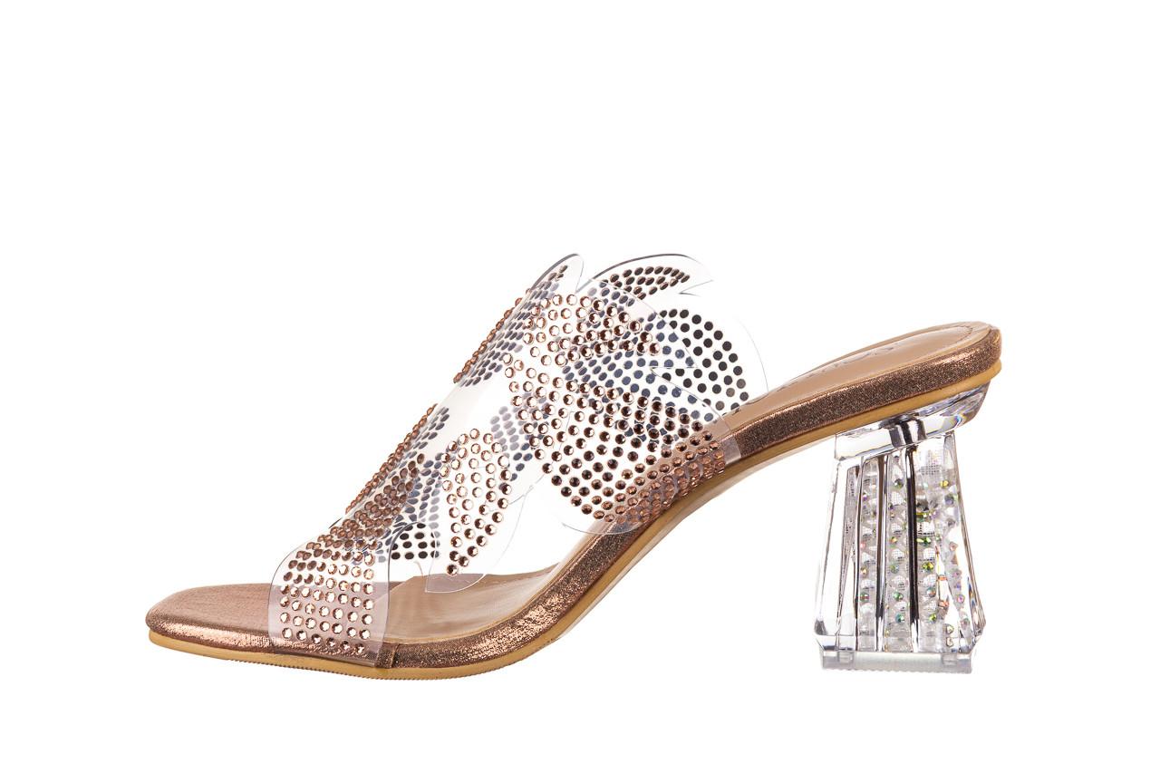 Klapki sca'viola g-57 gold 047173, złoty, silikon - klapki - buty damskie - kobieta 11
