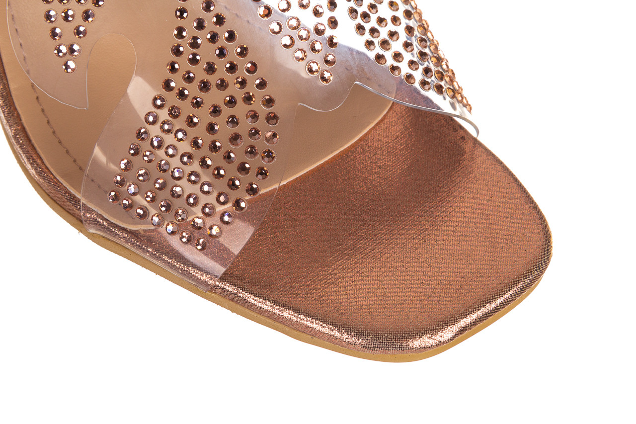 Klapki sca'viola g-57 gold 047173, złoty, silikon - klapki - buty damskie - kobieta 14