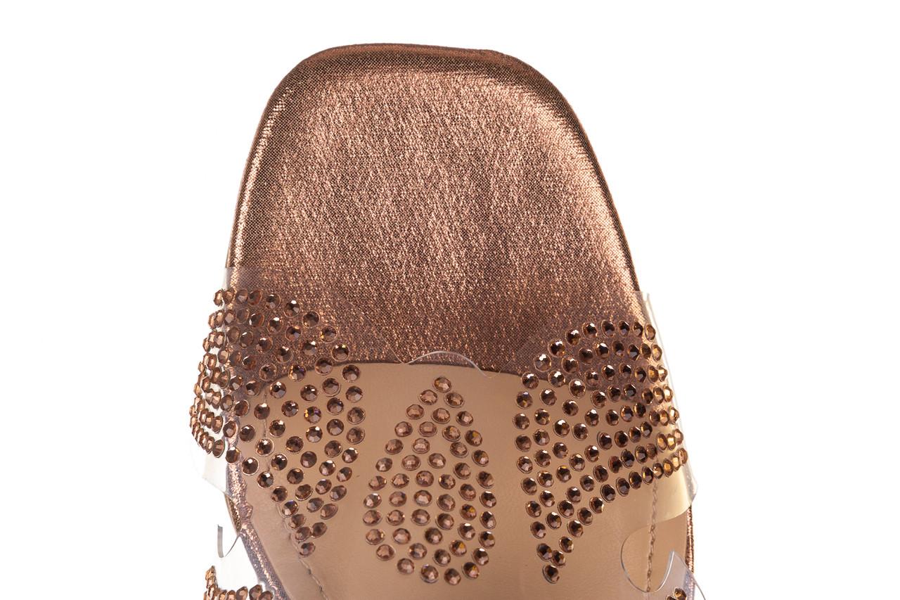 Klapki sca'viola g-57 gold 047173, złoty, silikon - klapki - buty damskie - kobieta 15